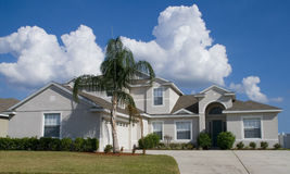 Real Estate5. Rural Home on a sunny day in Florida Stock Photos