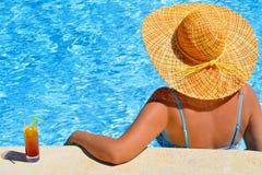 Real female beauty enjoying her summer vacation Royalty Free Stock Photo