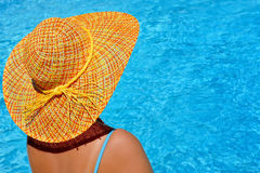 Real female beauty enjoying her summer vacation Royalty Free Stock Photography