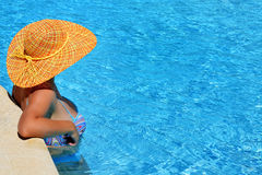 Real female beauty enjoying her summer vacation Stock Photography