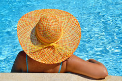 Real female beauty enjoying her summer vacation Royalty Free Stock Photos