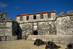 Real Fuerza Fort, Havana, Cuba Royalty Free Stock Image