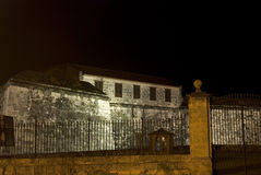 Real Fuerza Fort by night, Havana, Cuba Stock Photos