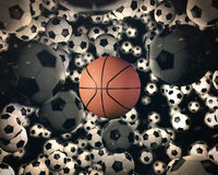 Real Game Set 1 Royalty Free Stock Photography