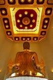 Real Golden buddha Stock Photography