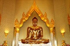 Real Golden buddha Royalty Free Stock Photos