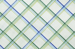 Real gridded fabric Stock Images