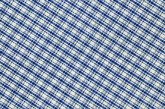 Real gridded fabric Stock Image