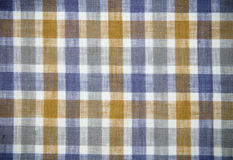 Real gridded fabric Stock Photography