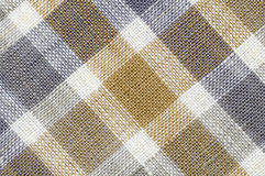 Real gridded fabric Royalty Free Stock Photo