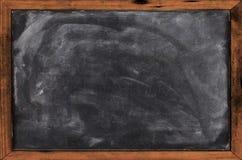 Real grunge blank blackboard Stock Images