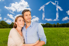 Real home Stock Photography