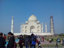 Real image of taj Stock Photography