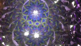 Real kaleidoscope background stock footage