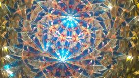 Real kaleidoscope background stock footage