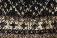 Real knitted fabric textured background. Royalty Free Stock Photos