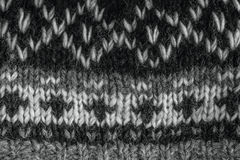 Real knitted fabric textured background. Royalty Free Stock Images