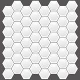Real Looking Hexagon texture Stock Image