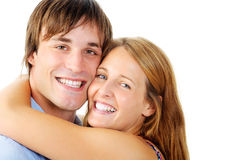Real love portrait Stock Photos