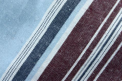 Real macro of cotton fabric stock images
