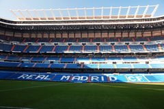 Real madird stadium, Santiago Bernabeu Royalty Free Stock Photography