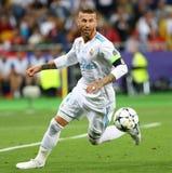 Real Madrid 2018 do final da liga de campeões de UEFA v Liverpool imagem de stock royalty free