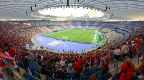 Real Madrid 2018 do final da liga de campeões de UEFA v Liverpool imagens de stock