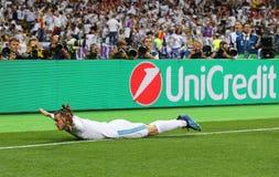 Real Madrid 2018 do final da liga de campeões de UEFA v Liverpool foto de stock