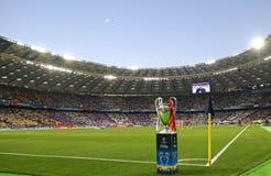 Real Madrid 2018 do final da liga de campeões de UEFA v Liverpool, Kiev, fotografia de stock