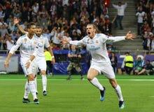 Real Madrid 2018 do final da liga de campeões de UEFA v Liverpool, Kiev, foto de stock