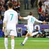 Real Madrid 2018 do final da liga de campeões de UEFA v Liverpool, Kiev, fotos de stock