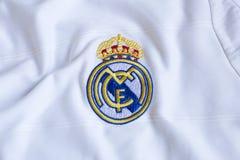 Real Madrid emblem. Royalty Free Stock Image