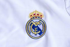 Real Madrid emblem. Stock Photography