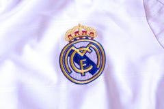 Real Madrid emblem. Stock Photo
