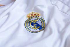 Real Madrid emblem. Royalty Free Stock Photos