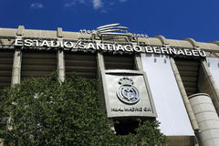 Real Madrid, Estadio Σαντιάγο Bernabeu, το σύγχρονο κτήριο, Μαδρίτη, Ισπανία Στοκ Εικόνα