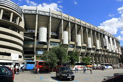 Real Madrid, Estadio Santiago Bernabeu, the modern building, Madrid, Spain Stock Photos