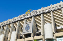 Real Madrid facade Royalty Free Stock Photos