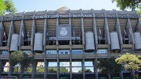 Real Madrid football stadium in Spain Stock Photo