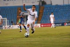 Real Madrid jr.-Academia Hagi match Stock Photo
