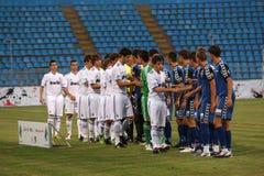 Real Madrid jr.-Academia Hagi match Royalty Free Stock Photo