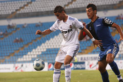 Real Madrid jr.-Academia Hagi match Stock Photography