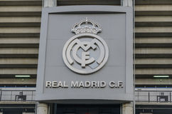 Real Madrid logotype Stock Photos