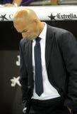 Real Madrid manager Zinedine Zidane Royalty Free Stock Photos