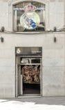 Real Madrid offizieller Shop Stockbilder