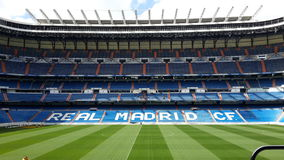 Real Madrid. A picture of the Stadion in Madrid Stock Images