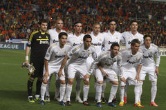 Real Madrid players Stock Images
