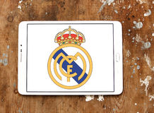 Real madrid soccer club logo Royalty Free Stock Image