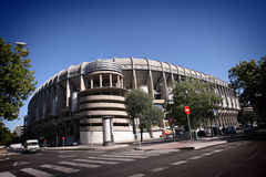 Real Madrid Stadium Stock Photos