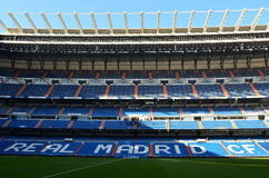 Real Madrid Stadium - Spain. Real Madrid Stadium Santiago Bernabeu in Madrid (Spain Stock Photo